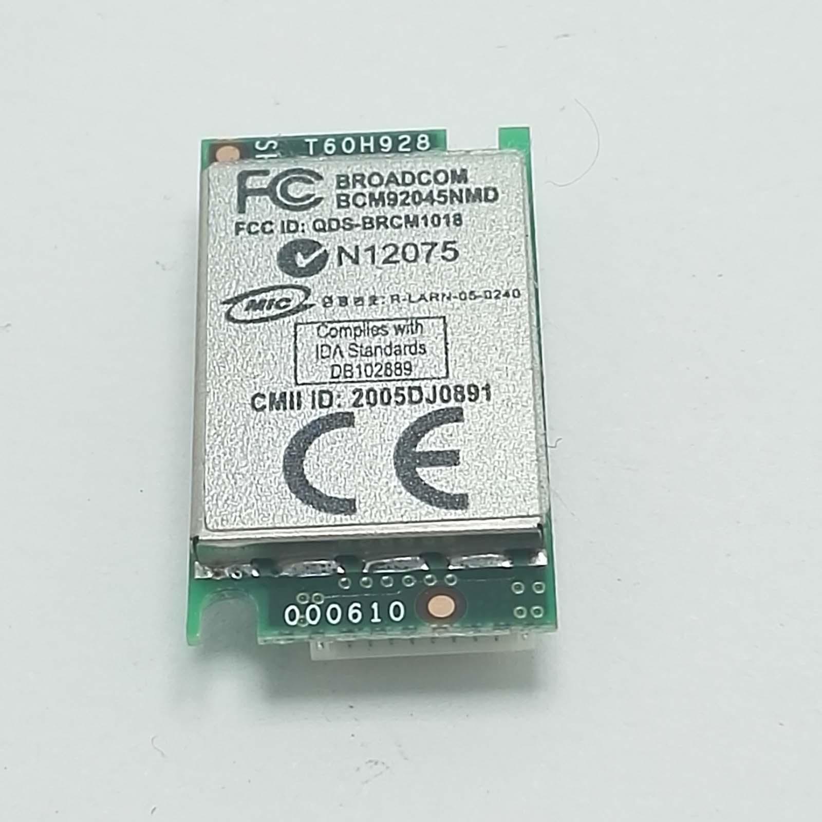 Bluetooth Samsung R60 Plus NP-R60S Broadcom BCM92045NMD Pavilion DV6000 HP 550