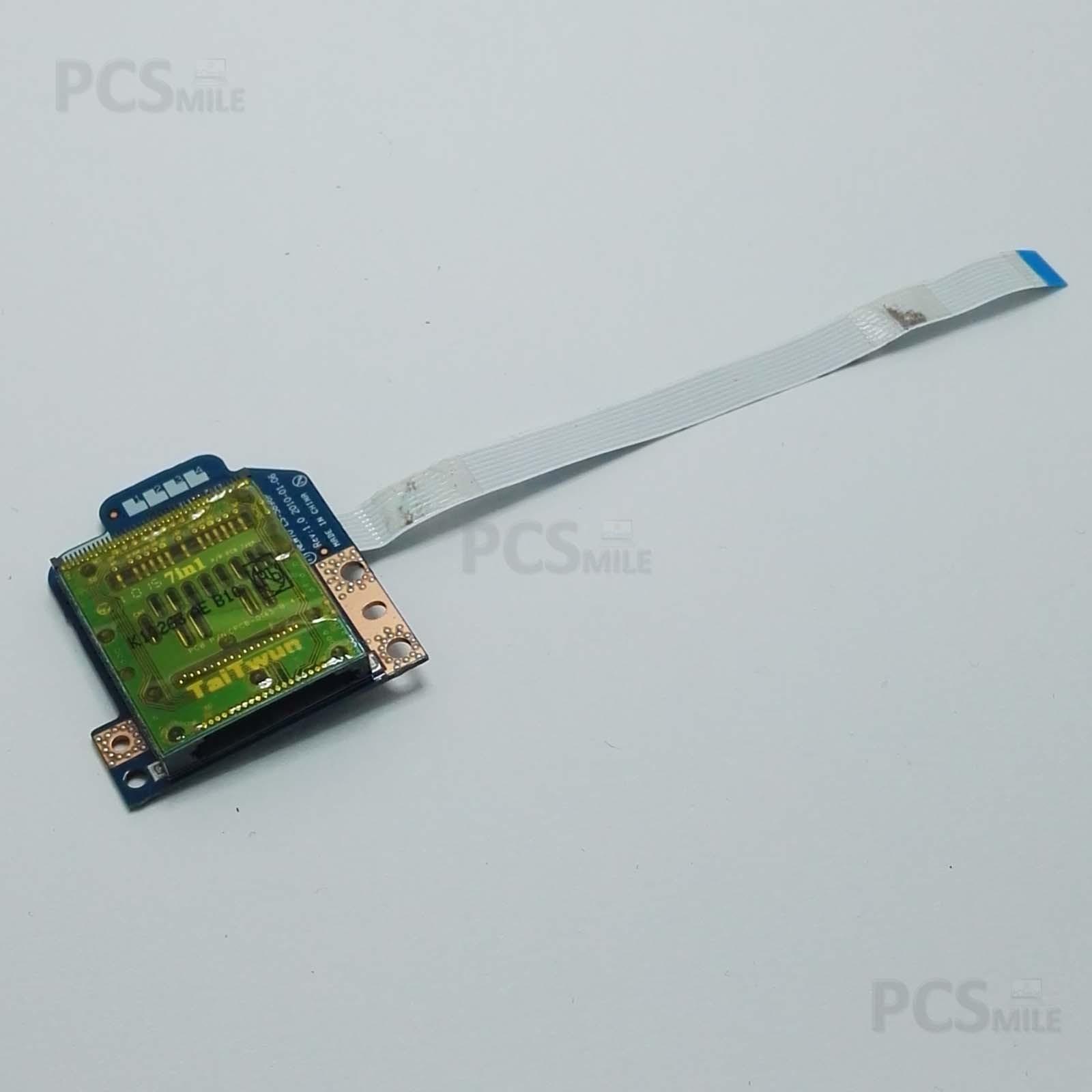 Card reader Packard bell NEW70 LS-5896P EasyNote TM85 Flat NBX0000NK00CV