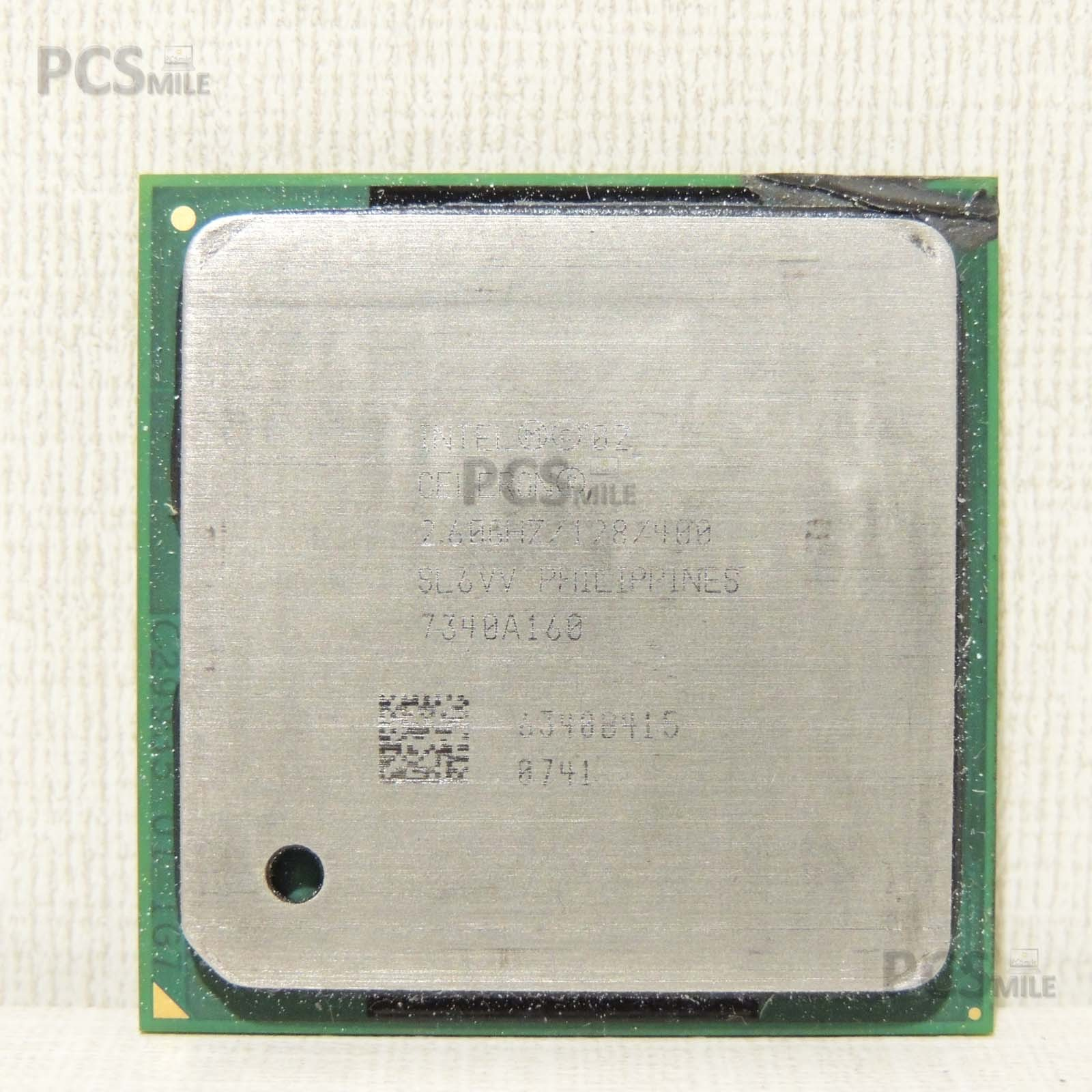 CPU Intel Celeron 2.60 GHz/128/400 sl6vv 7340A160
