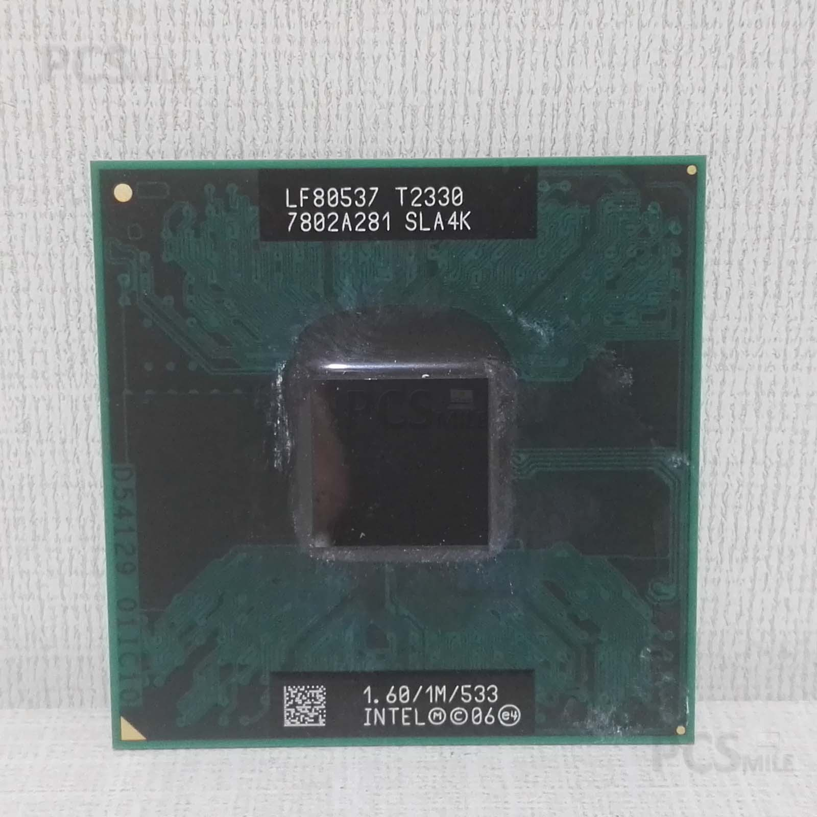 CPU Processore Intel Core 2 Duo LF80537 T2330 SLA4K 1,6/1M/533