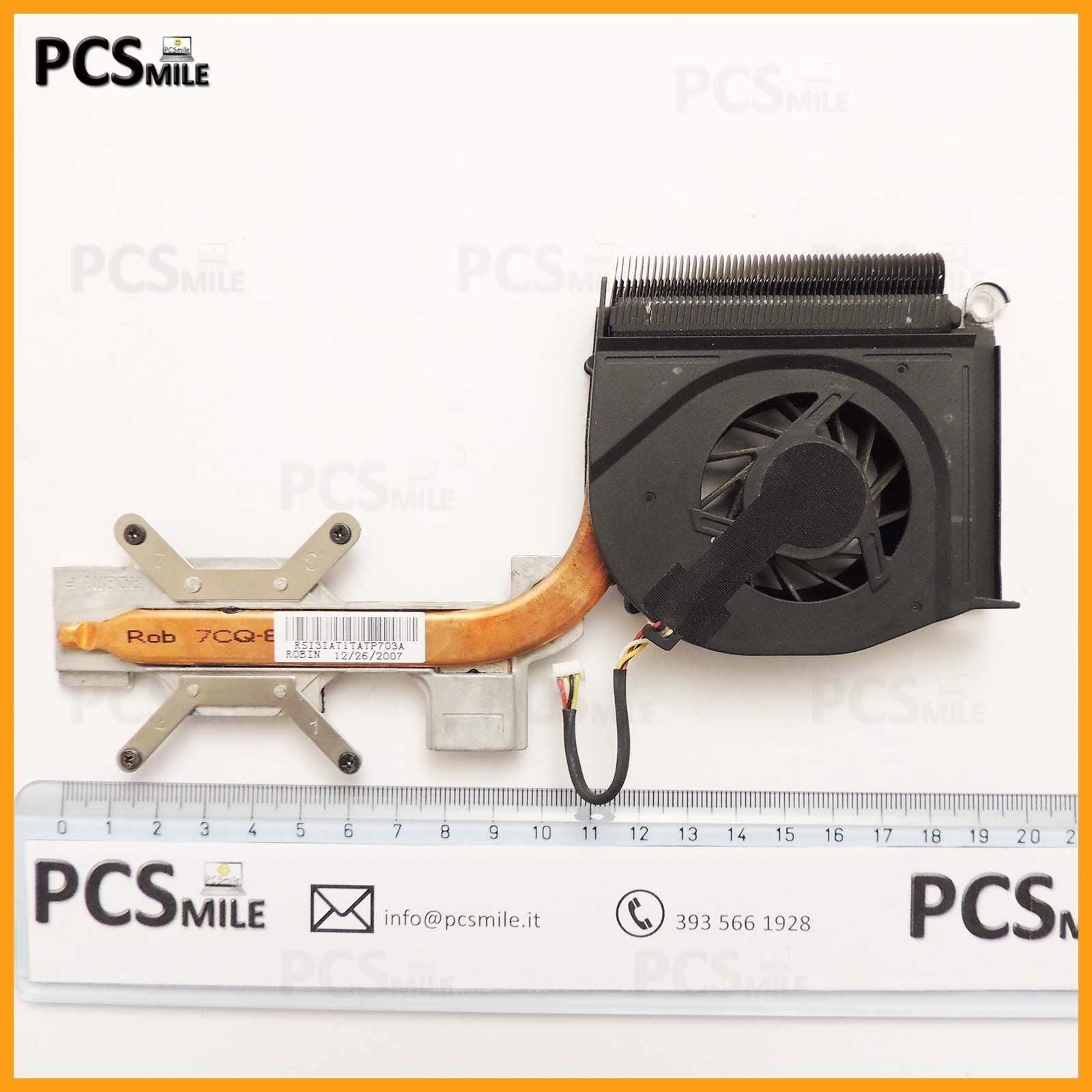 Dissipatore più ventola Presario F700 HP Compaq 449961-001 KSB0605HB
