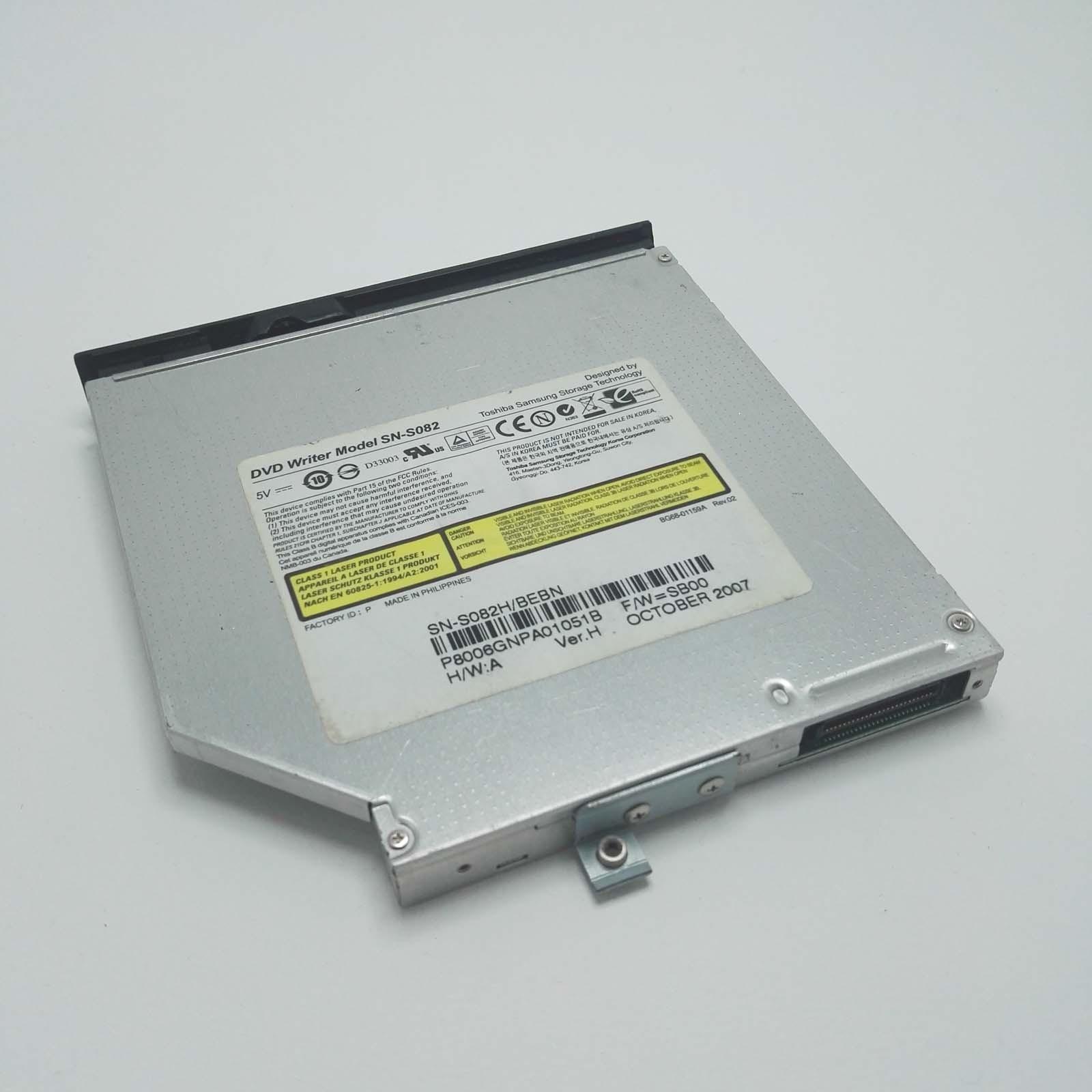DVD Writer Model SN-S082 con mascherina Samsung R60 Plus NP-R60S