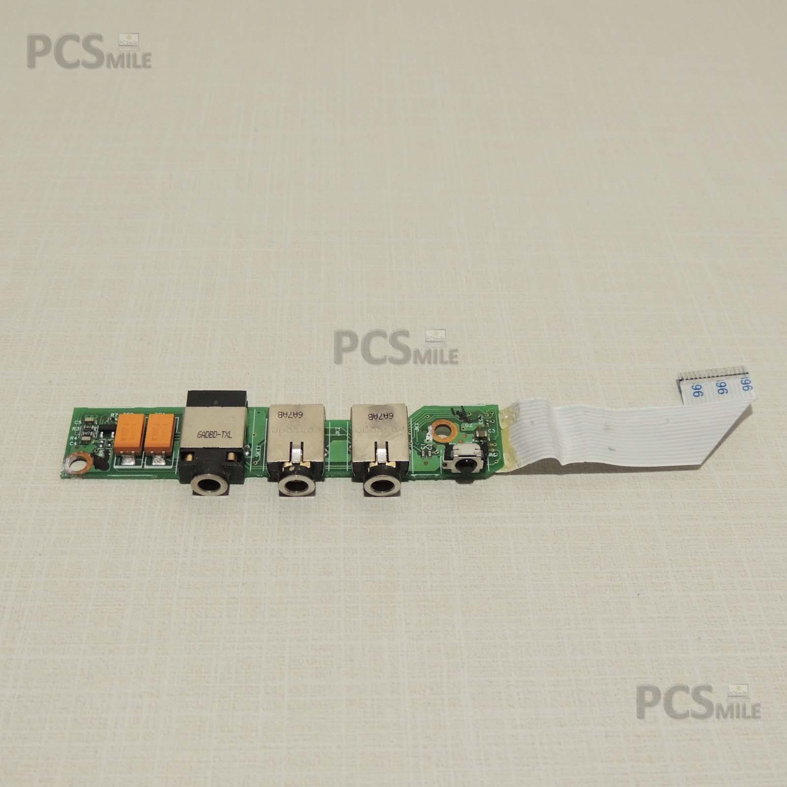 HP Pavilion DV2000 DV2172ea 48.4F610.021 Scheda Audio infrarossi Jack 3.5