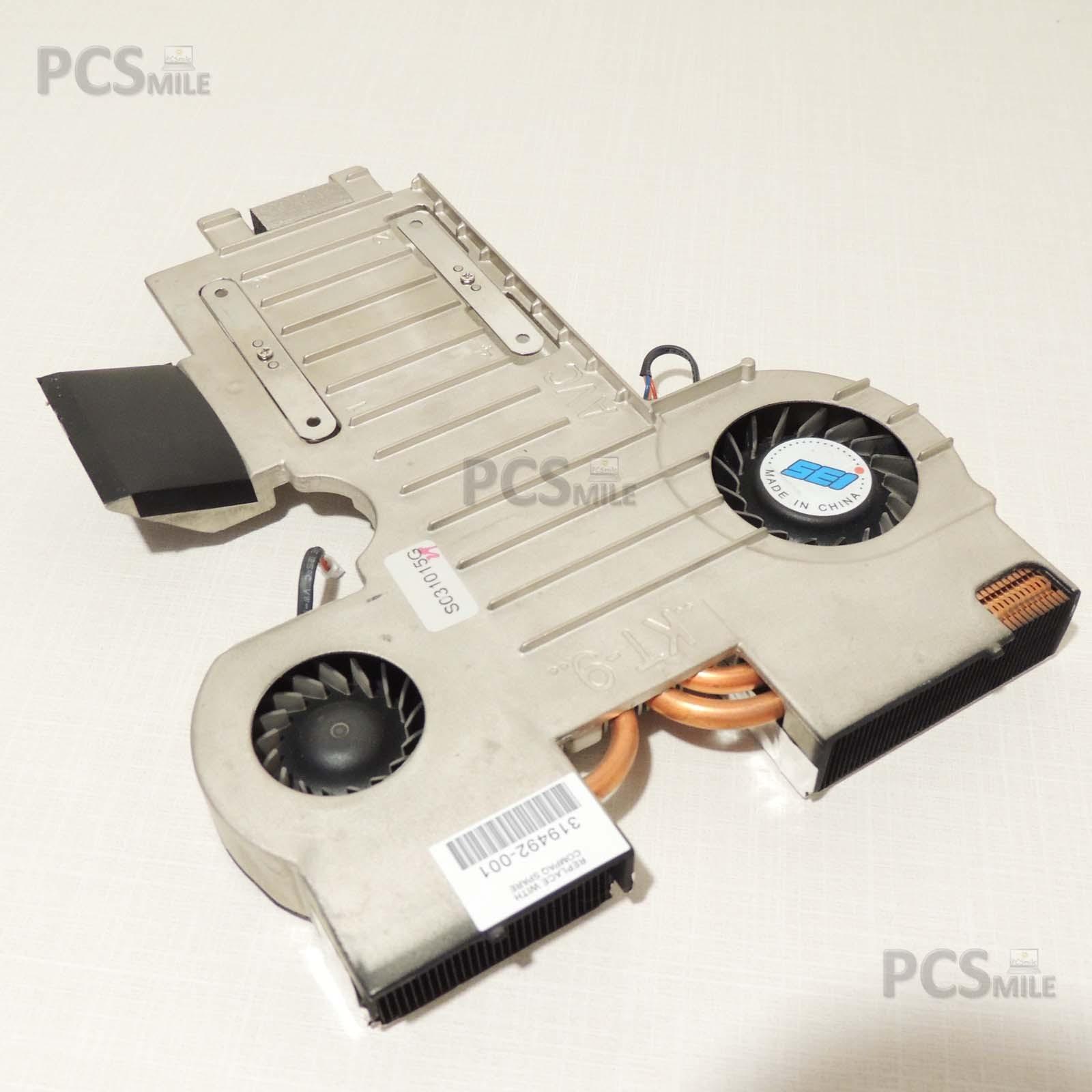 HP Pavilion ZE5500 dissipatore ventola 319492-001 ze5507ea