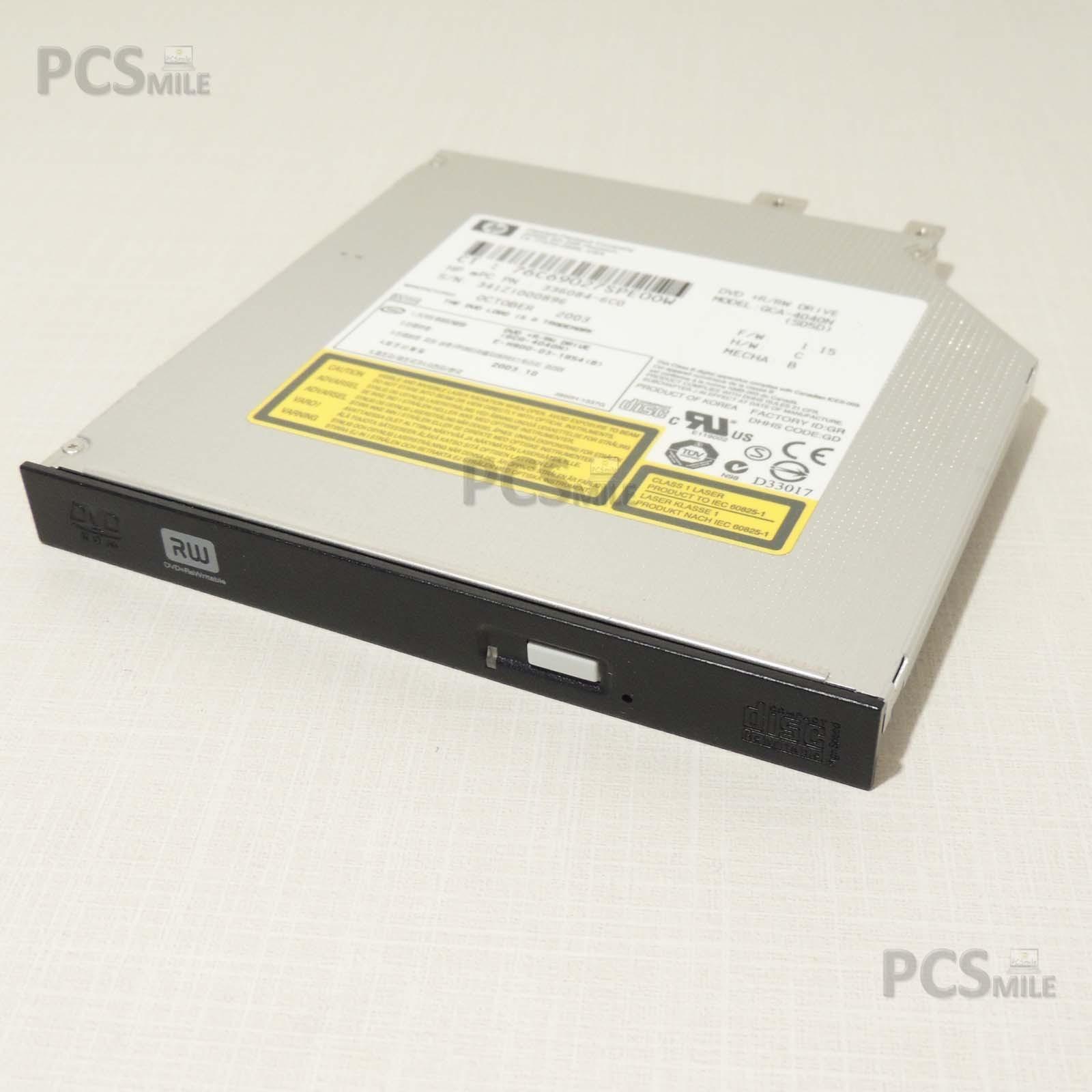 HP Pavilion ZE5500 Lettore CD DVD GCA-4040N 336084-6C0 MASCHERINA