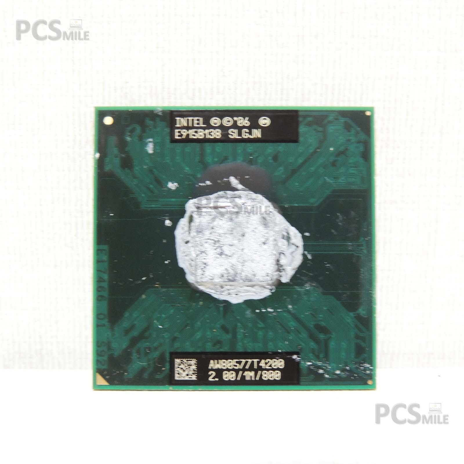 Intel Core 2 Duo AW80577T4200 CPU NOTEBOOK PROCESSORE 2.00 / 1M / 800 T4200