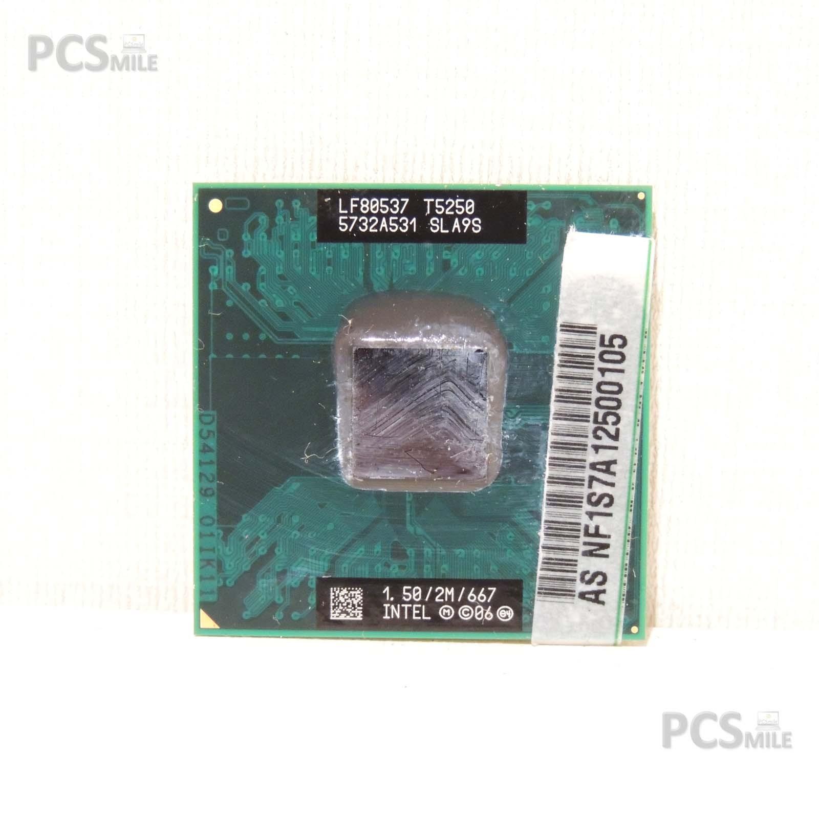 Intel Core 2duo mobile processore t5250 1,50ghz FSB 667 sla9s lf80537 CPU