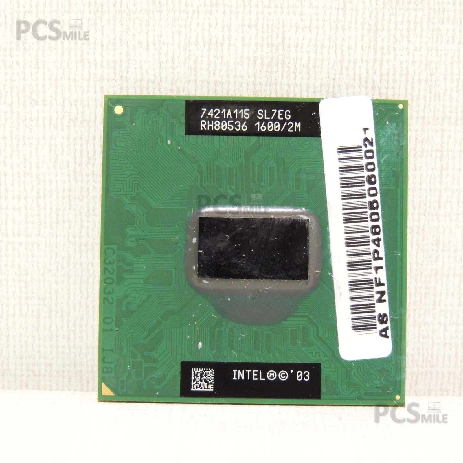 Intel® Pentium® M Processor 725 (2M Cache, 1.60A GHz, 400 MHz FSB) SL7EG