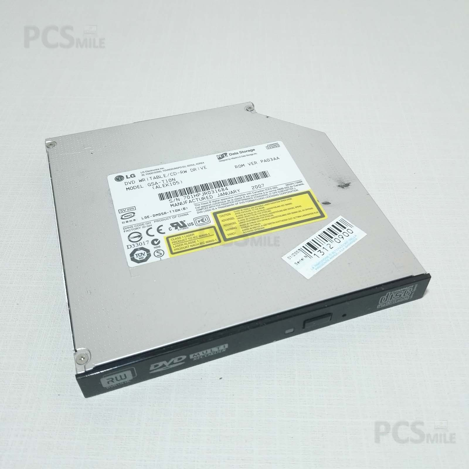 Lettore CD DVD masterizzatore IDE Olidata tehom CW4800 GSA-T10N (ALEK105)