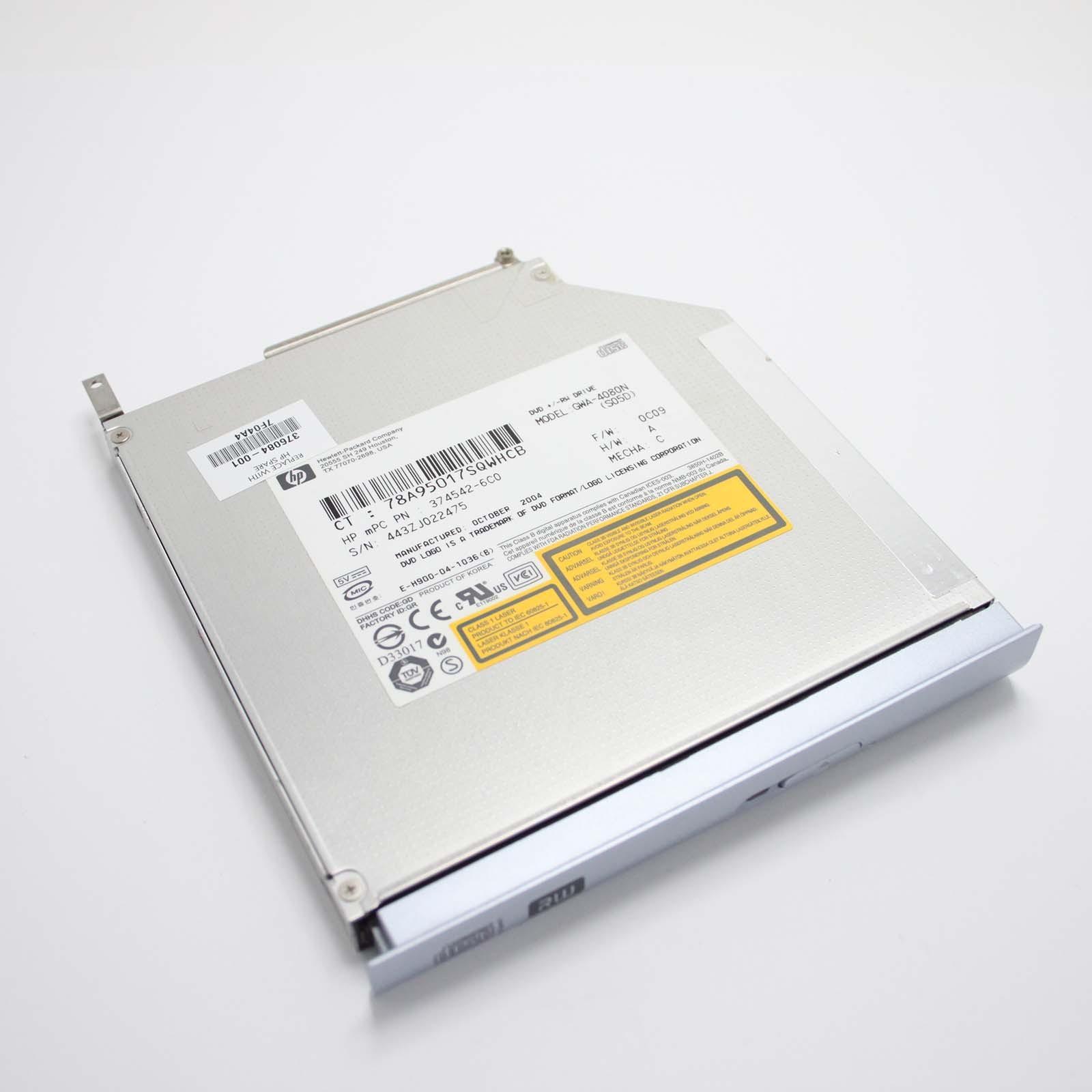 Lettore masterizzatore CD DVD HP Pavilion ZD7000 376084-001 374542-6C0 GWA-4080N