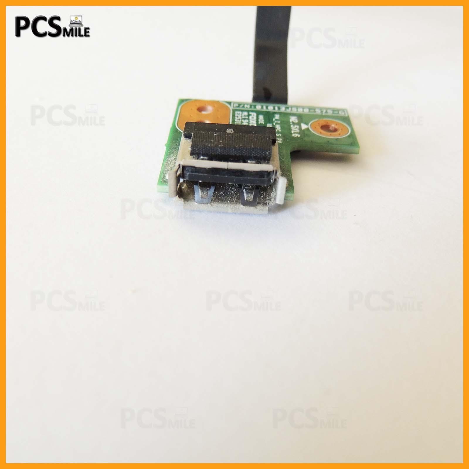 Porta USB HP G62-b06SL 01013JS00-575-G CON FLAT BOARD USB SCHEDA