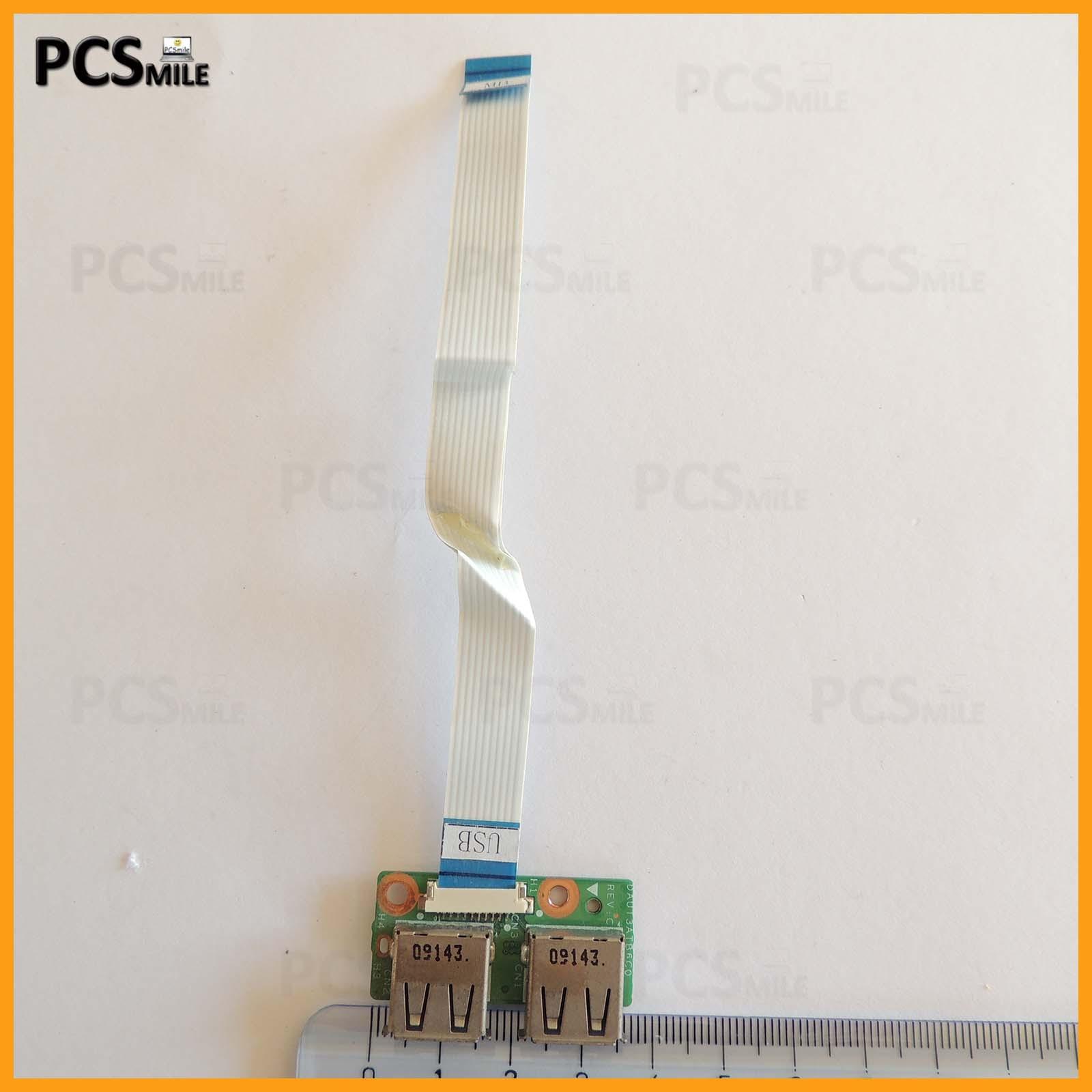 Porte USB Board scheda DAUT3ATB6CO HP DV6-1114el DV6-1200SL Flat