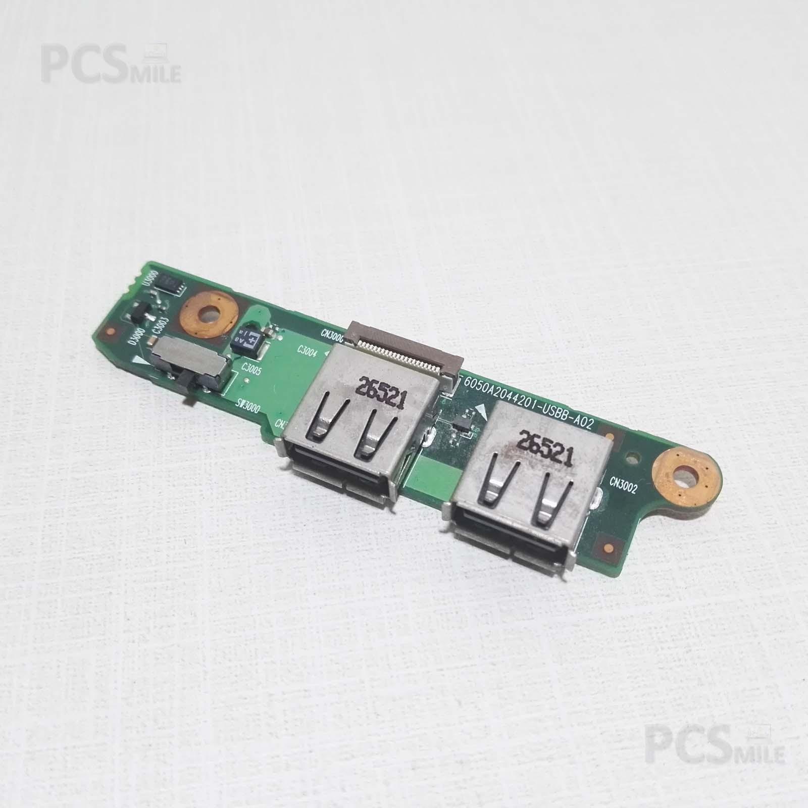 Porte USB destra Toshiba Satellite A100-667 6050A2044201-USBB-A02, V000060520