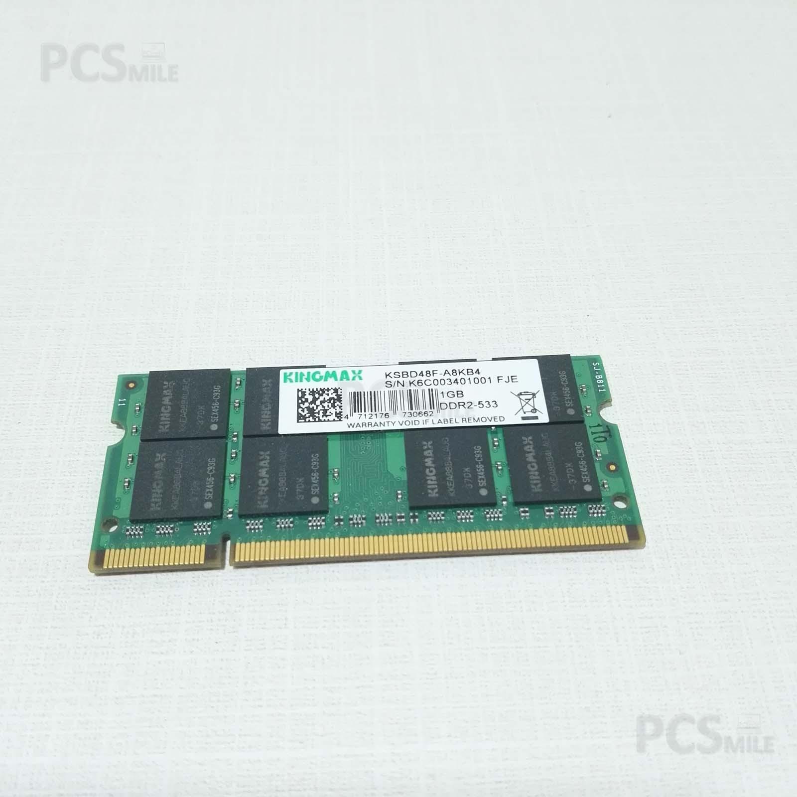 RAM 1GB KINGMAX KSBD48F-A8KB4 DDR2-533 PCG-6L1M