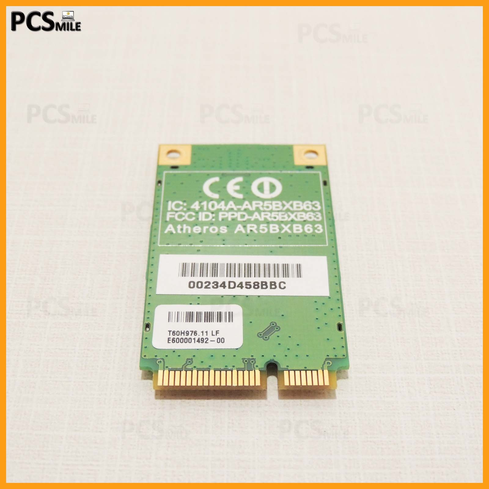 Scheda WiFi Atheros AR5BXB63 Wireless Acer Aspire One ZG5