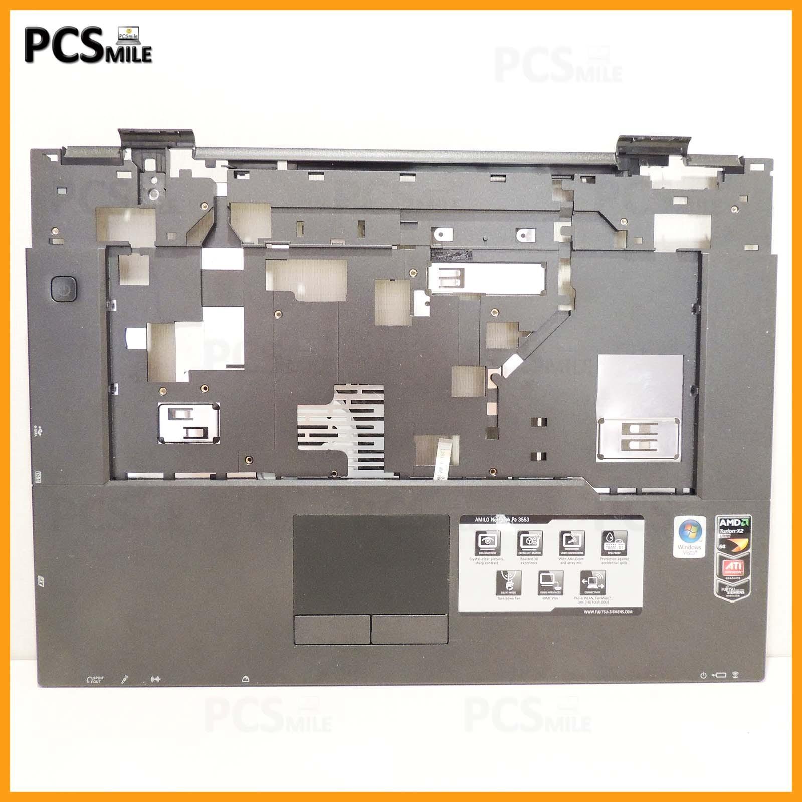Scocca Amilo PA 3553 MS2242 Touchpad tasti mouse Fujitsu Siemens cover superiore