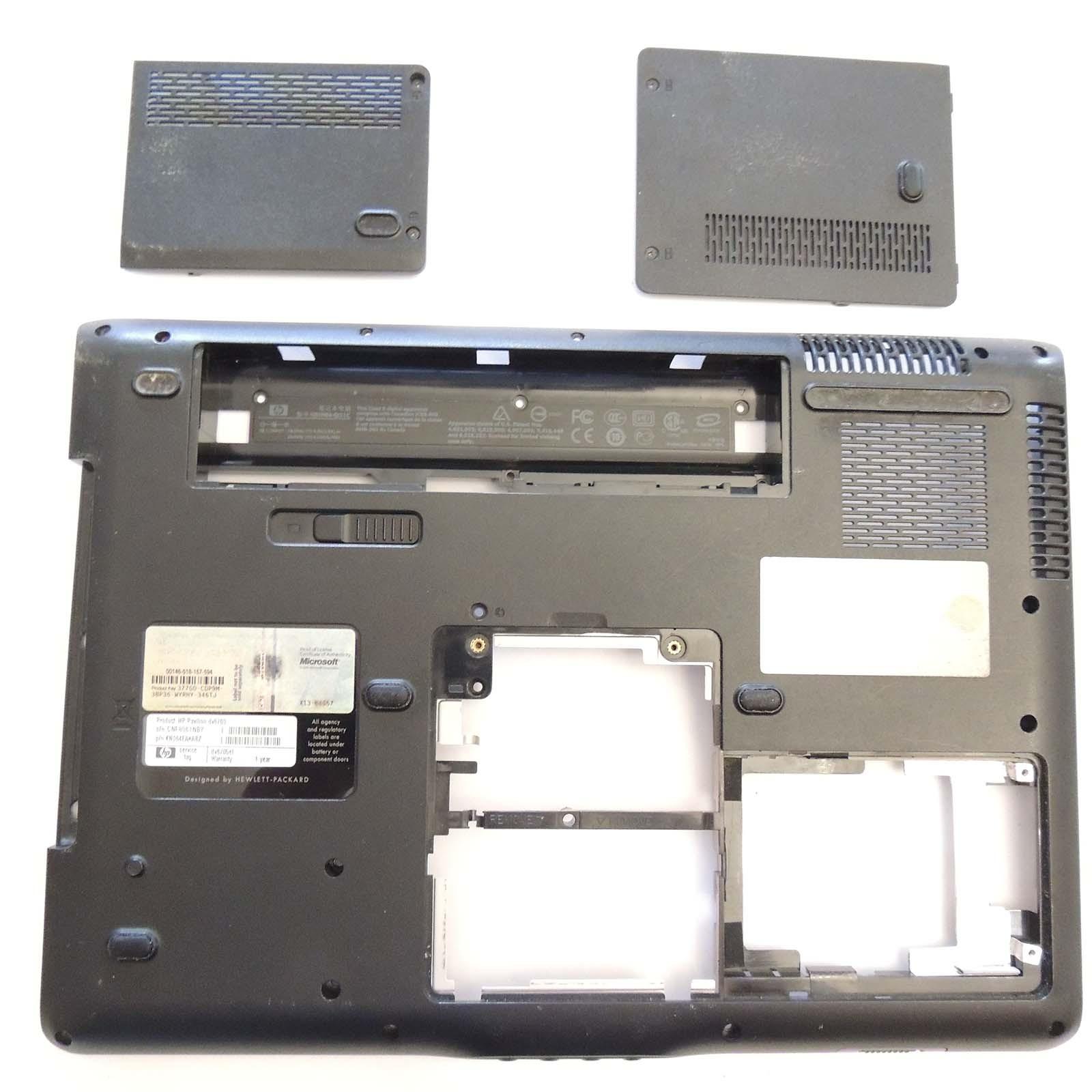 Scocca posteriore HP PAvilion DV6705el 446513-001 tappi RAM Hard disk