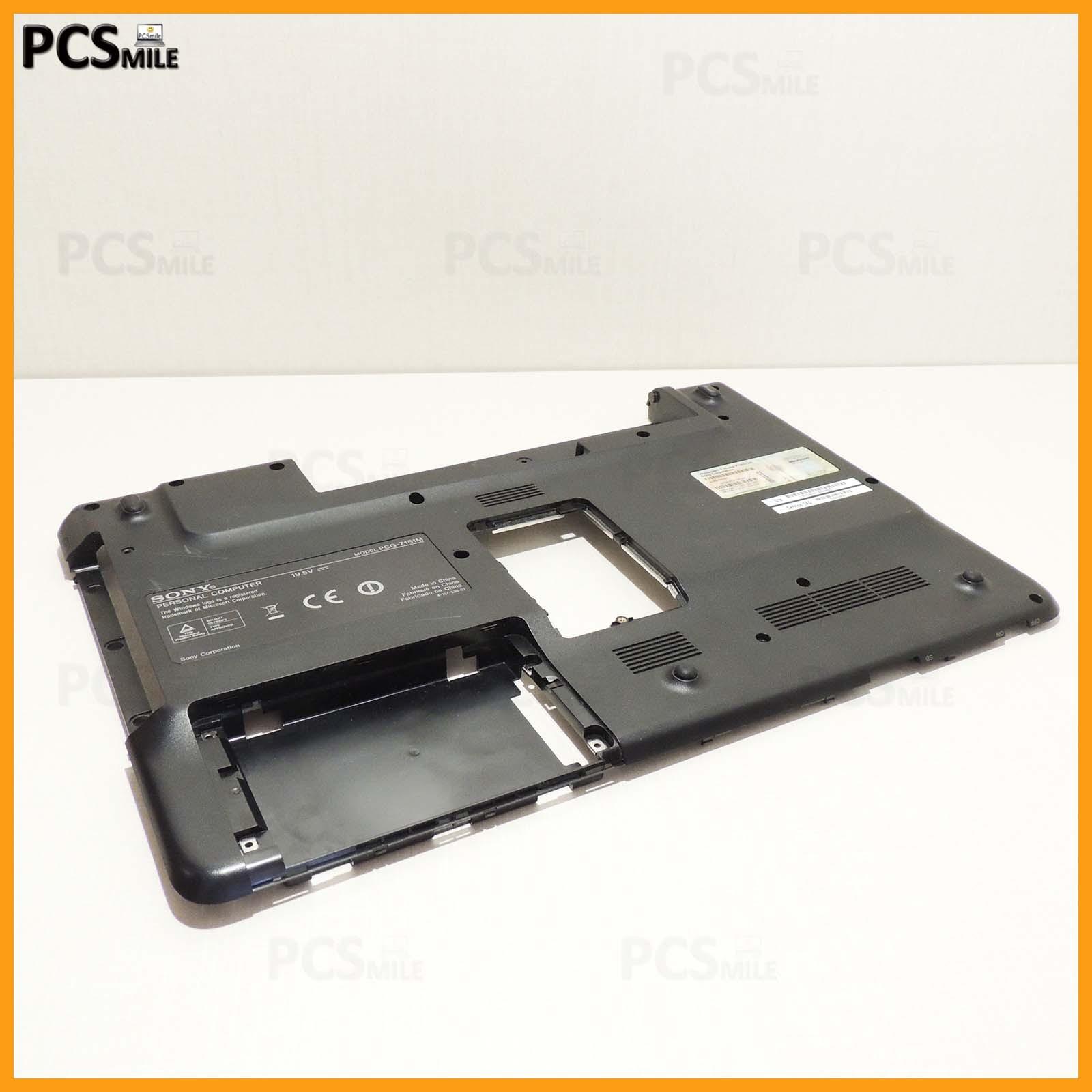 Scocca posteriore Sony Vaio PCG-7181M VGN-NW21ZF P/N: 012-021A-1370-B con sticker originale