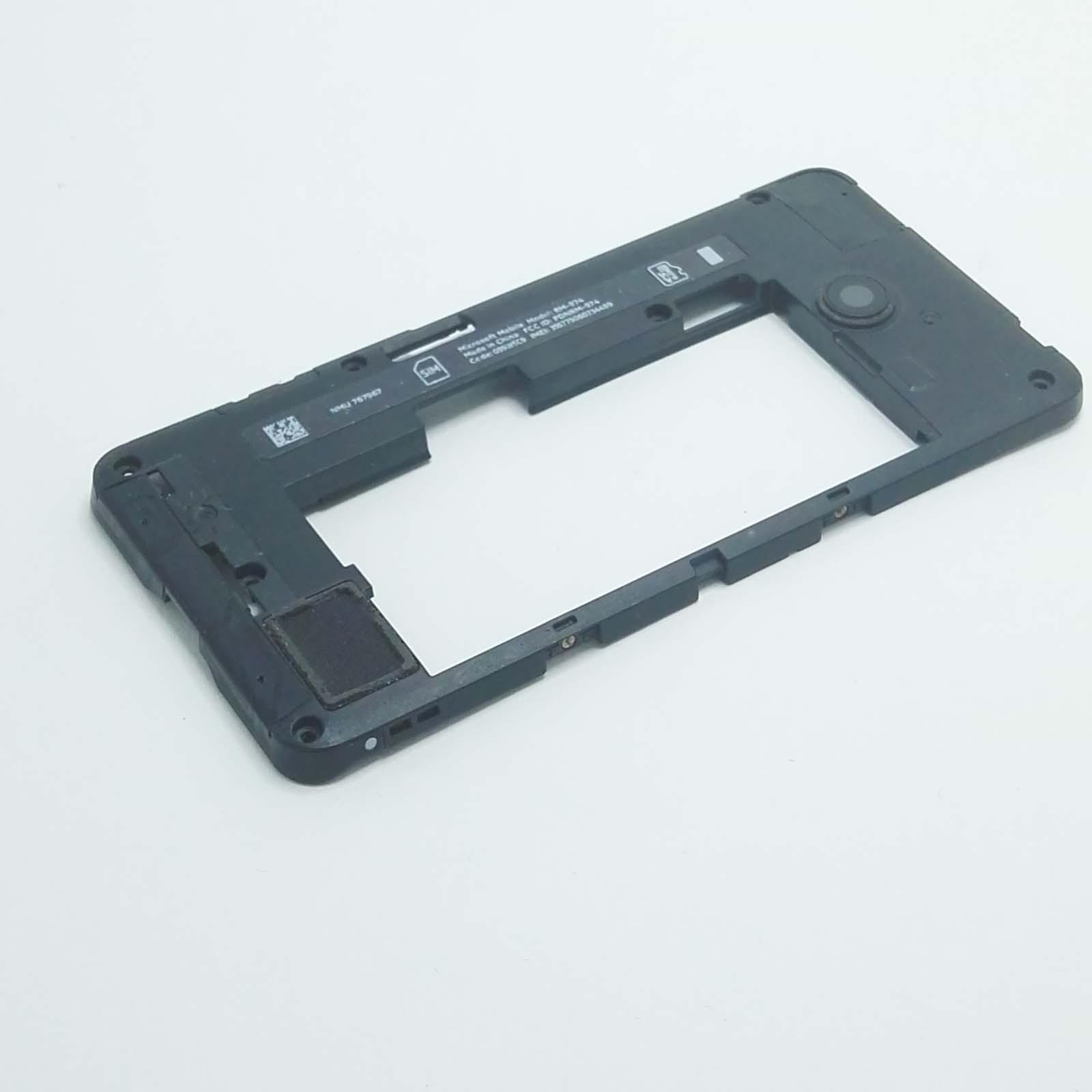 Scocca posteriore vetrino fotocamera Nokia Lumia 635 RM-974 vano batteria