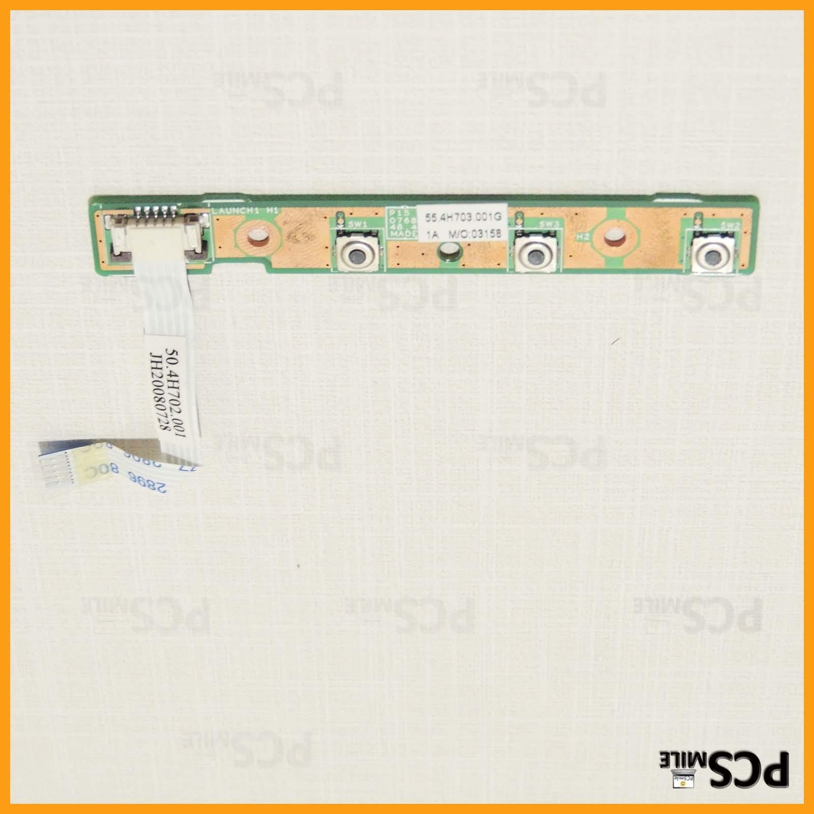 Tasti pannello multimediale Amilo PA 3553 MS2242 Fujitsu Siemens 48.4H703.001 55.4H703.001G