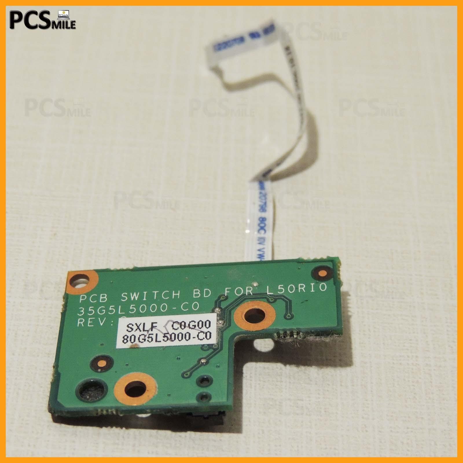 Tasto accensione Amilo Pi 1505 BS032 Fujitsu Siemens 35G5L5000-C0 REV:C