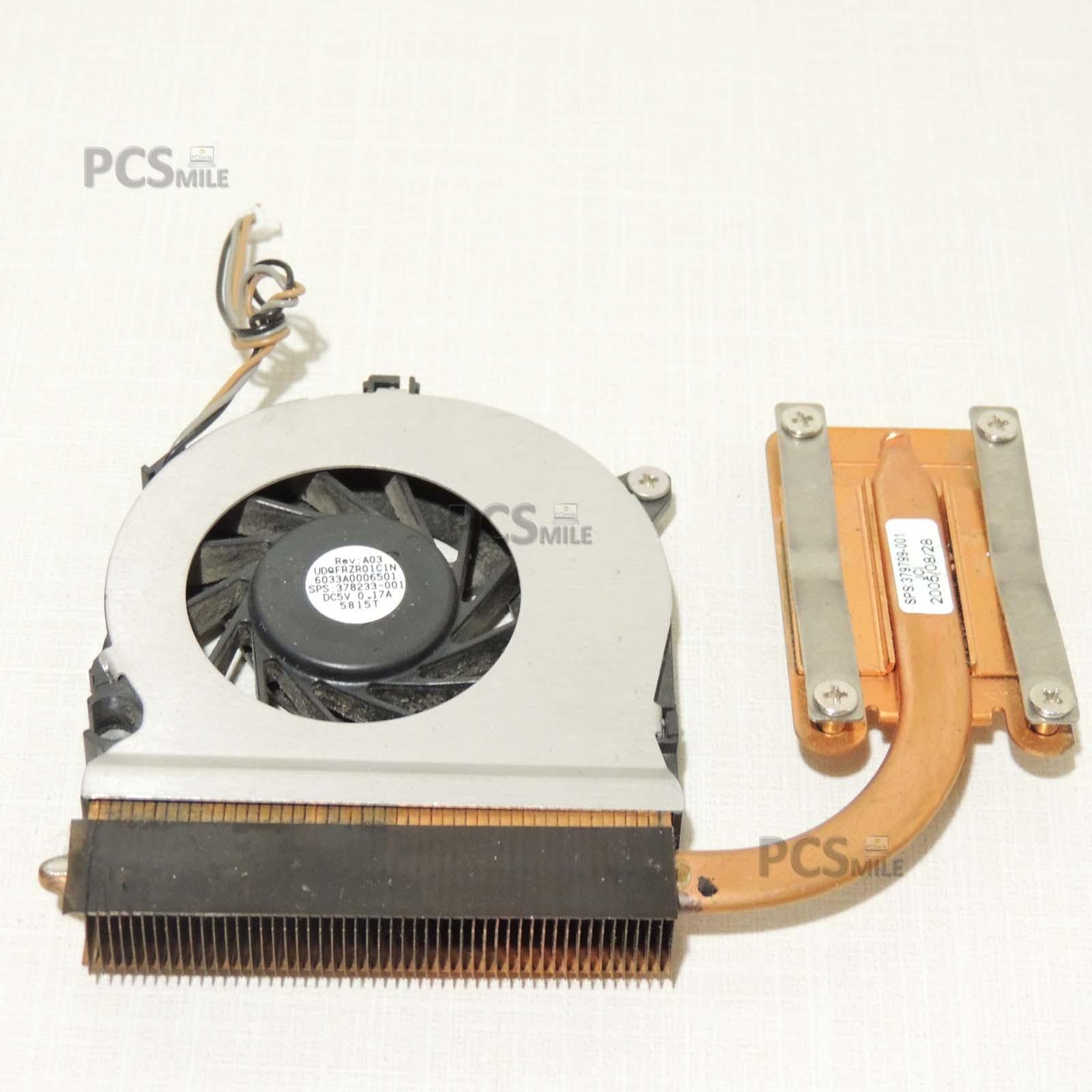 Ventola e dissipatore HP COMPAQ NC6120 379799-001 UDQFRZR01C1N